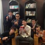「GET NAVI」の企画でノンスタイル石田さんと人狼ゲームを行いました。