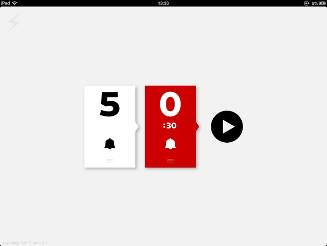 【iPad/iPhone】人狼で使うタイマーアプリ